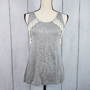 Maurices Lace-up Back Tank
